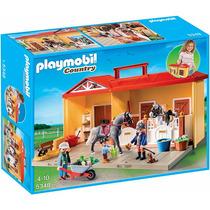 Playmobil 5348 Maletin Establo De Caballos - Mundo Manias