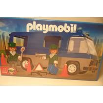 Playmobil Camion Municipal Policia Control Alcoholemia 3253