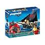 Barco Piarata Playmobil Con Motor Y Control - 5238