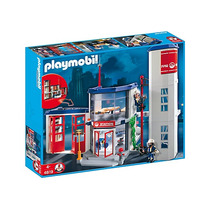 Playmobil Estación De Bomberos - Art 4819