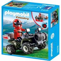 Playmobil 5429 Cuatriciclo De Rescate - Mundo Manias