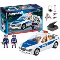 Playmobil 5184 City Action Auto De Policia Con 2 Muñecos