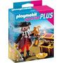 Playmobil Special Plus 4783 Pirata Con Cofre Del Tesoro Envi