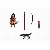 Playmobil Caballero Con Lobo C: 5408 Punto Bebe
