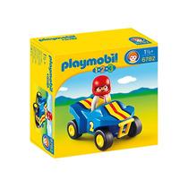 Educando Playmobil 123 Cuatriciclo Con Figura 6782 Nene