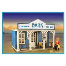 Playmobil Banco Con Caja Fuerte Original Antex