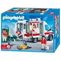 Playmobil Ambulancia 4221 - 12 Cuotas! - Recoleta Local
