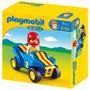 Playmobil 123 6782 Auto Buggy De Carreras Con Conductor