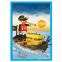 Playmobil 13570 - Pirata + Barco - Original Caja Sellada