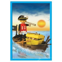 Playmobil 13570 - Pirata + Barco - Original Caja Sellada