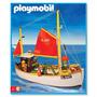 Playmobil Barco Pesquero Con Figuras Y Accesorios Art. 3551