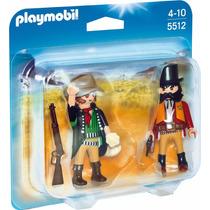 Playmobil Duo Pack 5512 Western Sheriff Y Bandido Mundomania