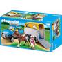 Playmobil 5223 Vehiculo Con Remolque De Ponys - Mundo Manias