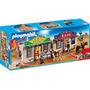Ciudad Del Oeste Playmobil Con Banco Y Comisaria De Sheriff