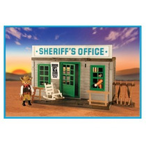 Playmobil Oficina Del Sheriff Original Antex
