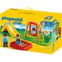 Playmobil 123 - 6785 - Plaza Parque Infantil - Mundo Manias