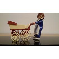 Niñera Victoriana Playmobil Con Changuito