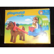 Playmobil 1 2 3 Carrito Con Pony 6779 Nuevo Oferta