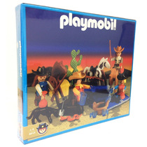 Playmobil Lejano Oeste Vaqueros, Caballos Original Antex
