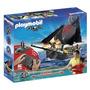 Barco Pirata Playmobil Radio Contro Original Casa Valente