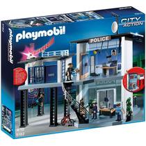 Playmobil 5182 Comisaria De Policia Con Alarma Mundo Manias