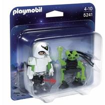 Playmobil Duo Pack 5241 Hombre Del Espacio - Mundo Manias
