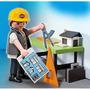 Playmobil 5294 Arquitecto Con Mesa De Trabajo
