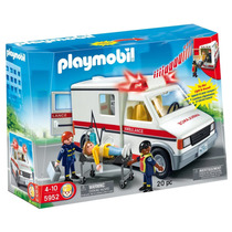 Playmobil Ambulancia De Urgencias Art 5952