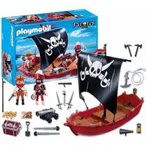 Playmobil 5298 Piratas - Barco Corsario - Mundo Manias