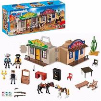 Playmobil 4398 Western Maletin Ciudad Del Lejano Oeste Typ