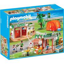 Playmobil 5432 Vacaciones Camping Campamento - Mundo Manias