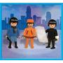 Playmobil Policias + Ladron