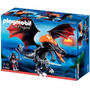 Playmobil Dragon Gigante Con Fuego Con Luz Led Art 5482