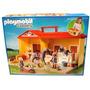 Playmobil 5348: Establo De Caballos Maletin - Minijuegosnet