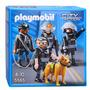 Playmobil Unidad Especial De Policia 5565 Original Intek