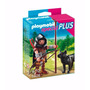 Playmobil Caballero Con Lobo 5408 Importado Original S Plus