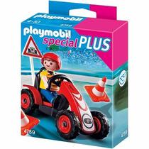 Playmobil Niño Con Coche De Carreras 4759