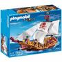 Playmobil Barco Pirata 74 Piezas Original