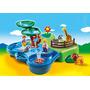 Educando Playmobil 123 Zoo Y Acuario Maletín 6792