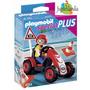 Playmobil 4759 - Niño Con Auto De Carreras
