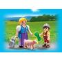Playmobil 5514 Madre Campesina Con Chanchito Y Niño