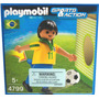 Playmobil 4799 :jugador De Brasil -minijuegosnet