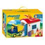 Educando Playmobil 123 Camión Garage Dramatización Nene 6759