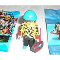 Muñeco Playmobil Rapero Sorpresa Abierto Oferta!!!
