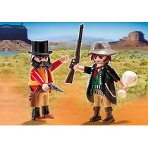 Muñeco Playmobil Duo Pack Sheriff Y Bandido - Art 5512