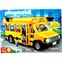 Playmobil 5940: Autobus Escolar - Minijuegosnet
