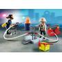 Playmobil City Action Bomberos Con Accesorios Y Valija