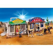 Playmobil Ciudad Del Lejano Oeste Codigo 4398 Importado