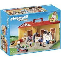 Playmobil 5348 Establo De Caballos Maletin
