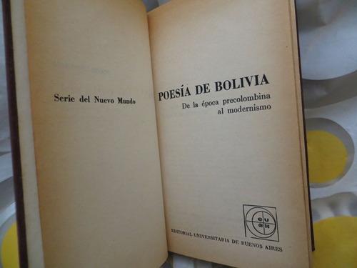 Poesia De Bolivia De La Epoca Precolombina Al Modernismo